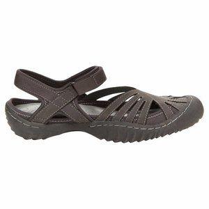 JBU Womens Shoes 81/2 M Gray Sandal Hiking Outdoor